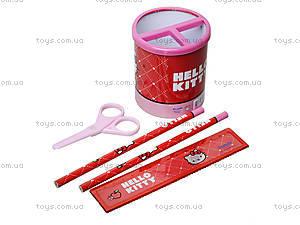 Канцелярский настольный набор Hello Kitty, HK13-205K, фото