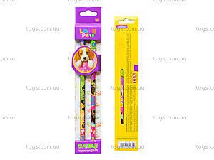 Набор карандашей шестигранных Pets, 280236