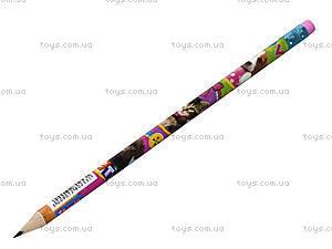 Простой карандаш с ластиком Pets, 280253, купить