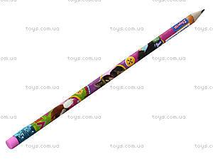Простой карандаш с ластиком Pets, 280253, фото
