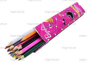 Карандаши цветные «Барби», 12 штуки, BRAB-US1-1P-12, отзывы