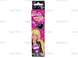 Карандаши цветные «Барби», 6 штук, BRAB-US1-1P-6