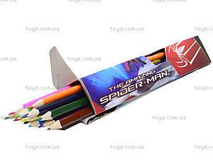 Карандаши цветные «Человек-Паук», 18 штук, SM4U-12S-1P-18, отзывы