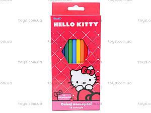 Карандаши цветные Hello Kitty, HK13-051K