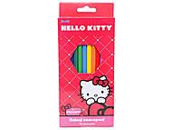 Карандаши цветные Hello Kitty, HK13-051K, купить