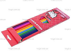 Карандаши цветные Hello Kitty, HK13-051K, отзывы