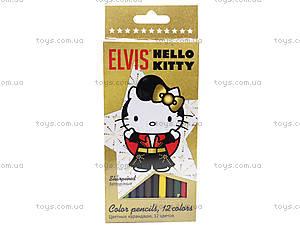Карандаши цветные «Hello Kitty Elvis», HKAP-US1-1P-12