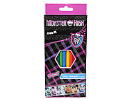 Карандаши цветные Monster High, MH13-051K, отзывы