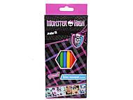 Карандаши цветные Monster High, MH13-051K, купить