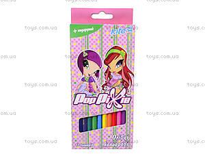 Карандаши цветные «Пикси», , фото