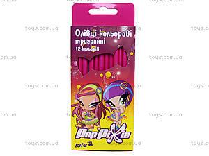 Карандаши цветные Pop Pixie, PP14-057K