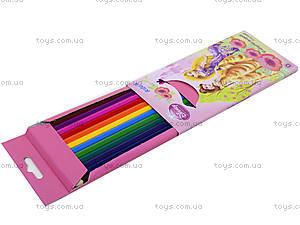 Карандаши цветные Princess, P13-051K, отзывы