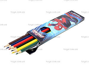 Карандаши цветные заточенные Spiderman, SMAB-US1-1P-6, цена