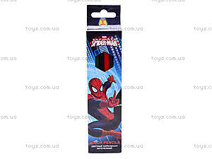 Карандаши цветные заточенные Spiderman, SMAB-US1-1P-6