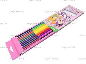 Карандаши двухцветные Pop Pixie, PP13-055K, фото