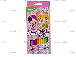 Карандаши двухцветные Pop Pixie, PP13-055K