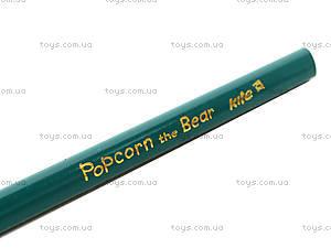 Карандаши трехгранные Popcorn Bear, PO13-053K, купить