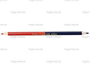 Карандаши двухцветные Maestro, 12 штук, 290186, фото