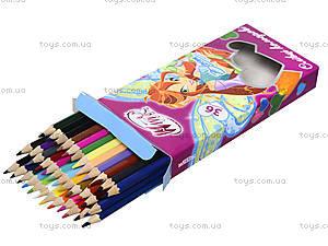 Цветные карандаши Maestro, 36 цветов, 290198, фото