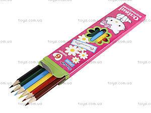 Набор цветных карандашей, 6 цветов, 290233, отзывы