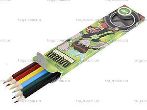 Набор карандашей, 6 цветов, 290235, фото