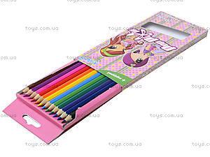Цветные карандаши Pop Pixie, 12 штук, PP13-051K, фото