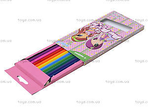Цветные карандаши Pop Pixie, 12 штук, PP13-051K, отзывы