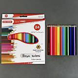 Карандаши цветные, 24 шт. в упаковке, 0681, отзывы