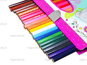 Карандаши цветные, 24 штуки, 290245, фото