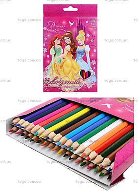 Цветные карандаши «Принцессы», 36 штук, PRBB-US1-1P-36