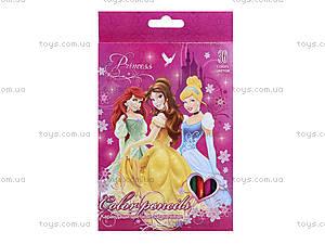 Цветные карандаши «Принцессы», 36 штук, PRBB-US1-1P-36, цена