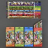 Карандаши цветные, 555-654, набор