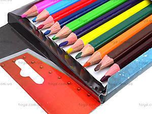 Карандаши цветные для детей, 12 штук, PLAB-US1-8P-12, купить
