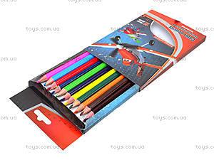 Карандаши цветные для детей, 12 штук, PLAB-US1-8P-12, цена