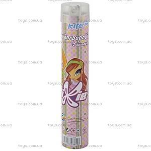 Карандаши цветные Pop Pixie, 12 штук, PP13-055K