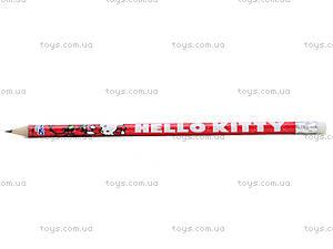 Простой карандаш Hello Kitty с ластиком, , фото