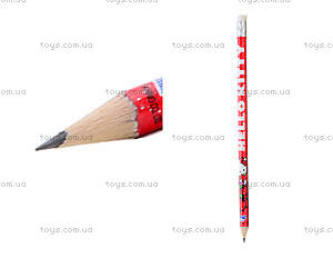 Простой карандаш Hello Kitty с ластиком,