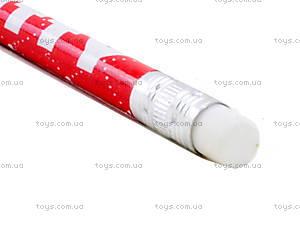 Простой карандаш Hello Kitty с ластиком, , отзывы