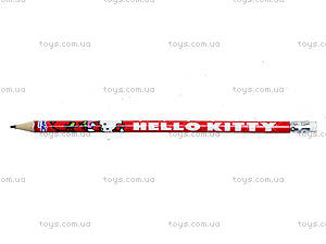 Карандаш графитовый с ластиком Hello Kitty, HK13-056K, купить