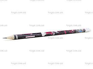 Простой карандаш Monster High с ластиком, MH14-056K, купить