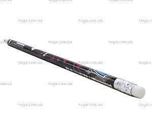 Простой карандаш Monster High с ластиком, MH14-056K, фото