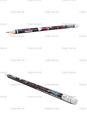 Простой карандаш Monster High с ластиком, MH14-056K