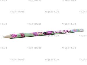 Простой карандаш Pop Pixie с ластиком, PP13-056K, купить