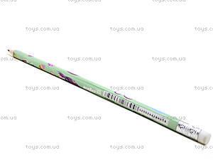 Простой карандаш Pop Pixie с ластиком, PP13-056K, фото