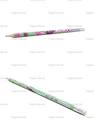 Простой карандаш Pop Pixie с ластиком, PP13-056K