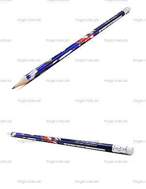 Простой карандаш Transformers с ластиком, TF13-056K
