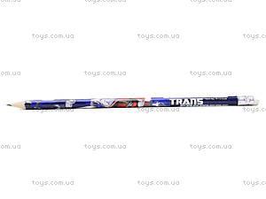 Простой карандаш Transformers с ластиком, TF13-056K, отзывы