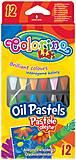 Карандаши пастельные масляные 12 цветов Colorino, 14052PTR, детский