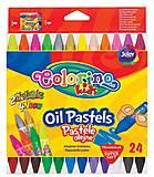 Карандаши пастельные масляные 24 штуки Colorino, 36085PTR, интернет магазин22 игрушки Украина