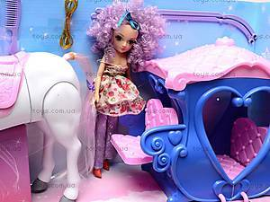 Карета детская с куклой и лошадью, 60386, фото